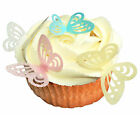 36 Edible Rice/ Wafer Paper (+36 small) Butterfly Cake/Cupcake Topper PRE-CUT