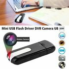 Mini Hidden USB Flash Drive Pinhole Spy Camera U Disk HD DVR Video Recorder Cam