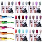 FairyGlo Gel Nail Polish UV LED Soak Off 4 Colors Top Base C