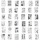 Внешний вид - DIY Rubber Stamp Sets SiliconeTemplate Die Card Album Decor Cutting Scrapbooking