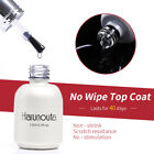 12ml Tempered Matte No Wipe Top Coat Reinforcement Gel UV Gel Nial Polish Tool