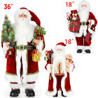 Unseated Father Christmas Doll Decoration Santa Claus Figure Home Garnishment LOT