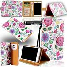Folio Leather Stand Flip Wallet Cover Mobile Phone Case For LG Various Models