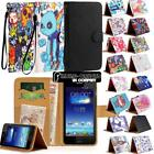 For Various Asus ZenFone Phones - Leather Wallet Stand Magnetic Flip Case...