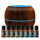 Ultrasonic Aromatherapy Dark Brown Essential Oil Diffuser Collection