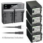 Kastar Battery Rapid Charger for Canon BP-827 BP827 Battery Canon CG-800 Charger