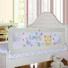 Beige Toddler Bed Rail Guard Rail Extra Long Safety Bed Guard for King&Queen Bed