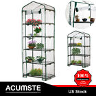 Portable Mini Green House Warm Greenhouse Flower Plant Gardening Cover Apex Roof