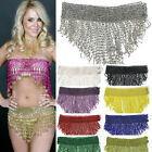 Внешний вид - Bead Belly Dance Dancer Samba Costumes Hip Scarf Skirt or Top Elastic Belt Wrap