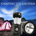 2/4pcs Portable Outdoor Ultra Bright Collapsible LED Light Camping Lantern