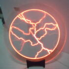 Tesla Plasma Disk Plate Holiday Party Club Bar Mood Lightning Lamp Light as Gift