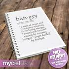 DIARY SLIMMING WORLD COMPATIBLE - Hangry (S008W) 12wk diary journal diet tracker