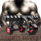 Abs Roller Wheel Patented 3 Wheel Perfect Fitness Exercise Equipment Home Pro ER