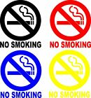No Smoking Sign Vinyl Decal Sticker Circle- Door Window Wall - Inside Or Outside