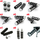 "1"" 7/8"" Inch Motorcycle Handle Bar Hand Grips For Honda Yamaha Harley Kawasaki $20.95 USD on eBay"
