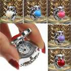 Unisex Men Women Ring Watches Clamshell Steel Owl Elastic Finger Analog Quartz image