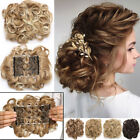 Kyпить MEGA LARGE THICK Curly Chignon Messy Bun Updo Clip in Hair Extensions AS REAL US на еВаy.соm
