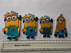 Despicable Me MINIONS Embroidered Iron / Sew on Patch Applique Badge