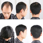 100 Real Natural Human Hair Short Full Wigs Genuine Men Hairpiece Toupee Wig