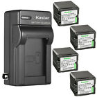 Kastar Battery Wall Charger for Panasonic VBG260 HDC-TM700 HDC-TM700K Camcorder