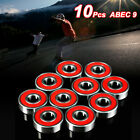 10Pcs Carbon Steel Skate Scooter Skateboard Wheels Spare Bearings Ball Roller image