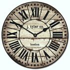 French Tower Silent Wall Clock 2 Ultra Quiet Non ticking Battery Operated