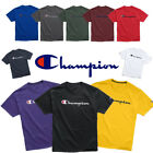 Authentic Champion Men's Jersey Script Logo Short Sleeves T-Shirt GT23H Y06794 image
