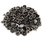 12.5MM 40 Sets Metal Snap Button Snaps Fasteners With 4 Pieces Fixing Tools