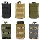 Military Tactical Outdoor Army Single Magazine Pouch Hunting Cartridge Clip Bag