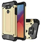 For LG G6 - Shockproof Hybrid Heavy Duty Armor Dual Layer Cover Case