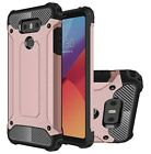 For LG G6 Case - Shockproof Hybrid Heavy Duty Hard Armour Dual Layer Cover