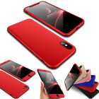 For iPhone 8 Plastic Ultra Thin 3 IN 1 Rugged Armor Shockproof Bumper Case Cover