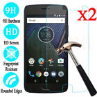 2Pcs 9H Tempered Glass Screen Protector Guard For Motorola Moto G5 G5S G6 Z Plus