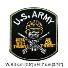 Military Army Navy SEAL Rank Sign Symbol DIY Clothes Jacket Jeans Iron on Patch