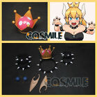 Внешний вид - Mario Bowsette Kuppa Koopa Hime Princess Cosplay Prop Crown Earrings Choker