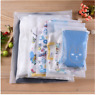 500pcs Custom Transparent Zipper Bag Zip Lock 30*40cm Design Your Own  Logo