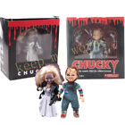 "Mezco Toys Loose Scared Movie Chucky and Bride 5"" PVC Action Figure"