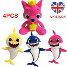 Cartoon Plush Toys Fox Sharks soft Dolls Children Baby Animal Kid Toys Cute Gift