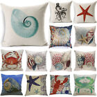 Home Decor Decorative throw Pillow Cover Beach Ocean Seaside Coastal Pillowcase image