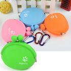 1Pce Outdoor Pet Dog Food Snacks Bag Silicone Training Food Storage Pouch Bags
