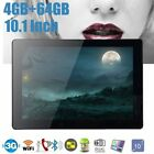 """10.1"""" 64G Tablet PC Android 7.0 Octa Core 2Ghz 10 Inch WIFI 2SIM 4G Phablet PJ"""