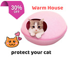 Cat Cave Pet Bed Sleeping House Felted Wool Dog Bed Cat House pad Kennel
