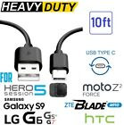 For LG G5,G6,G7,V20,V30,Nexus 5x, 2.1A Dual USB Wall Charger + 6ft Type-C Cable