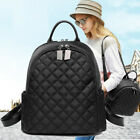 Women's Quilted Nylon Small Backpack Rucksack Daypack Travel bag Cute Purse