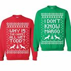 Внешний вид - SET OF 2 Matching Sweatshirts Why Is The Carpet All Wet Todd I Don't Know Margo