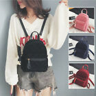 Convertible Quilted Velvet Small Mini Backpack Rucksack Shoulder bag Purse Cute