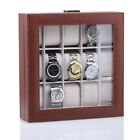 Black Watches Cases Mens Womens 6/8/12 Slots Collection Jewellery Storage Box