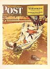 VTG Norman Rockwell Art Print Saturday Evening Post WWII R & R *** SEE VARIETY