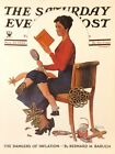 VTG Norman Rockwell Art Print Saturday Evening Post WOMEN *** SEE VARIETY