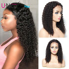 "UNice Brazilian Curly Human Hair Wig 12""-24"" Lace Front Human Hair Wigs #1 #2 #4"